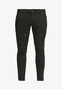 G-Star - AIRBLAZE 3D SKINNY - Jeans Skinny Fit - loomer black r superstretch worn in umber cobler - 5