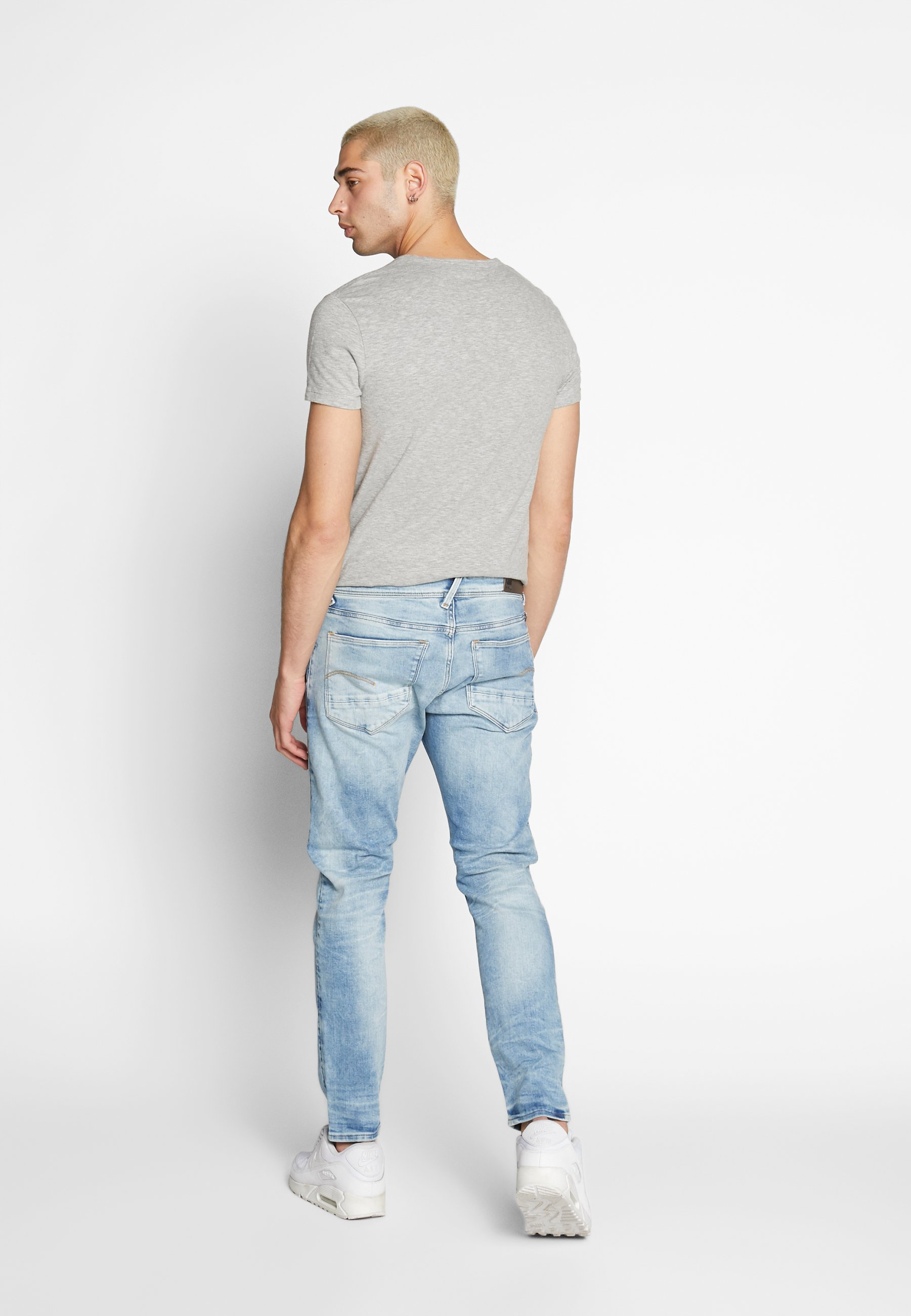 G-Star BLEID SLIM - Jeansy Slim Fit - heavy elto pure superstretch - vintage striking blue