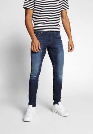 REVEND SKINNY - Jeans Skinny Fit - worn in sapphire