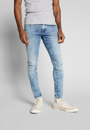 REVEND SKINNY - Skinny džíny - light-blue denim
