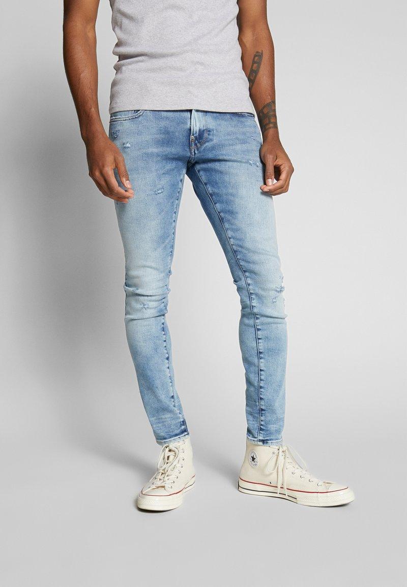 G-Star - REVEND SKINNY - Jeans Skinny Fit - light-blue denim