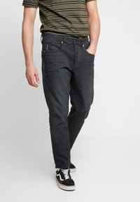 G-Star - LOIC RELAXED TAPERED COJ - Jeans Relaxed Fit - pite stretch raven - 0