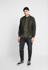 G-Star - LOIC RELAXED TAPERED COJ - Jeans Relaxed Fit - pite stretch raven - 1
