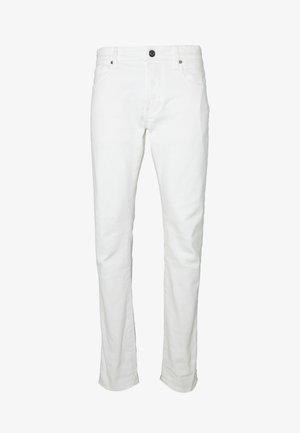 SLIM - Jeans slim fit - heavy launded stretch denim milk