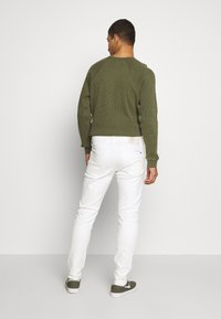 G-Star - SLIM - Jeans slim fit - heavy launded stretch denim milk - 2