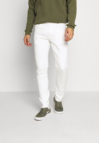 G-Star - SLIM - Jeans slim fit - heavy launded stretch denim milk - 0