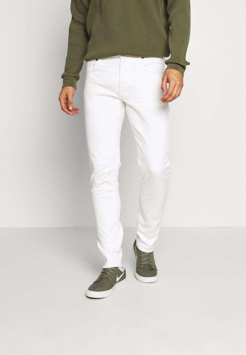 G-Star - SLIM - Jeans slim fit - heavy launded stretch denim milk