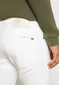 G-Star - SLIM - Jeans slim fit - heavy launded stretch denim milk - 4