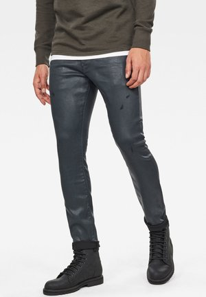REVEND  - Jeans Skinny Fit - waxed black