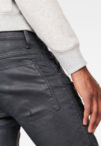 G-Star - 5620 3D ZIP KNEE  - Jeans Skinny Fit - waxed black - 2