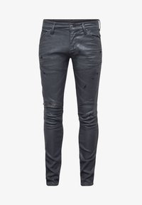 G-Star - 5620 3D ZIP KNEE  - Jeans Skinny Fit - waxed black - 5