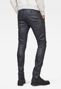 G-Star - 5620 3D ZIP KNEE  - Jeans Skinny Fit - waxed black - 1