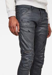 G-Star - 5620 3D ZIP KNEE  - Jeans Skinny Fit - waxed black - 3