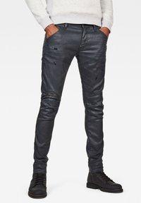G-Star - 5620 3D ZIP KNEE  - Jeans Skinny Fit - waxed black - 0