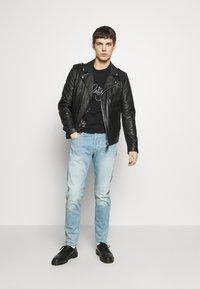G-Star - 3301 SLIM - Slim fit jeans - light-blue denim - 1