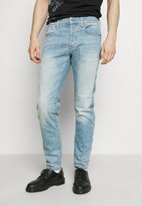 G-Star - 3301 SLIM - Slim fit jeans - light-blue denim - 0