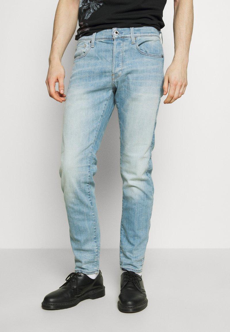 G-Star - 3301 SLIM - Slim fit jeans - light-blue denim