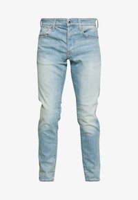 G-Star - 3301 SLIM - Slim fit jeans - light-blue denim - 3