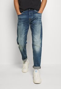 G-Star - 3911 ALUM RELAXED TAPERED - Džíny Relaxed Fit - blue denim - 0