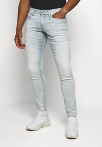 G-Star - 4101 LANCET SKINNY - Jeansy Skinny Fit - elto novo superstretch - sun faded quartz - 0