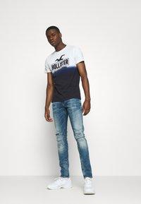 G-Star - 4101 LANCET SKINNY - Slim fit jeans - azurite - 1