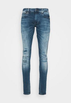 4101 LANCET SKINNY - Jeans Skinny Fit - azurite