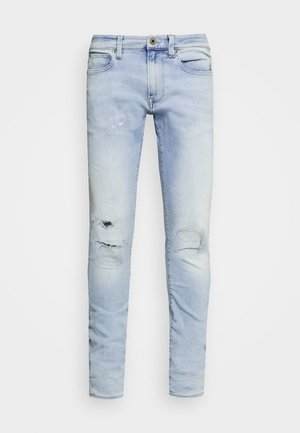 REVEND SKINNY - Jeans Skinny Fit - elto pure superstretch/sun faded ripped topaz blue