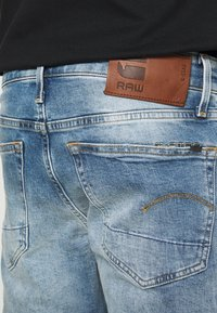 G-Star - 3301 STRAIGHT TAPERED - Džíny Straight Fit - ight-blue denim - 5
