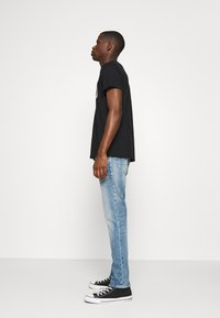 G-Star - 3301 STRAIGHT TAPERED - Džíny Straight Fit - ight-blue denim - 3