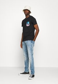G-Star - 3301 STRAIGHT TAPERED - Džíny Straight Fit - ight-blue denim - 1