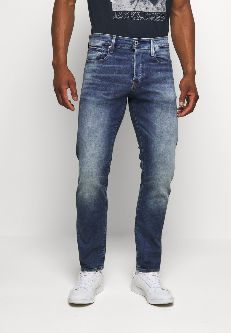 G-Star - 3301 STRAIGHT TAPERED - Straight leg jeans - vintage azure