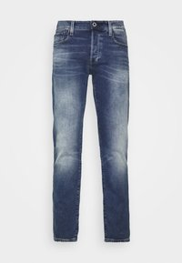 G-Star - 3301 STRAIGHT TAPERED - Straight leg jeans - vintage azure - 3