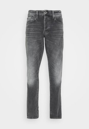 3301 STRAIGHT TAPERED - Straight leg -farkut - grey denim