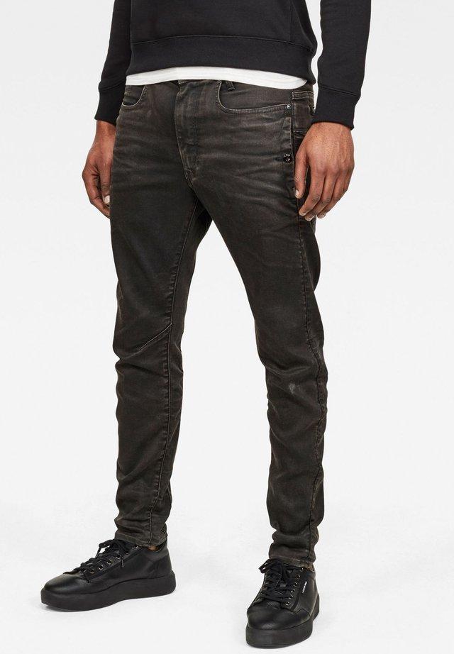 D-STAQ J 3D - Slim fit jeans - worn in umber cobler