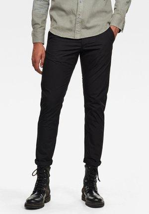 LOIC RELAXED  - Pantaloni - dk black