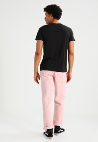 G-Star - BASE HTR R T S/S 2-PACK - T-shirt basic - solid black - 3