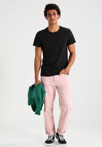 G-Star - BASE HTR R T S/S 2-PACK - T-shirt basic - solid black - 1