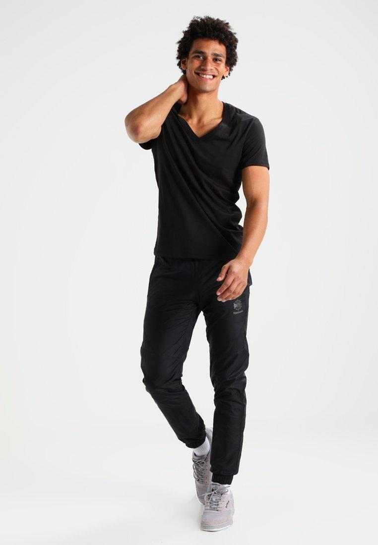 G-Star - BASE HTR V T S/S REGULAR FIT 2 PACK - T-shirt basic - solid black