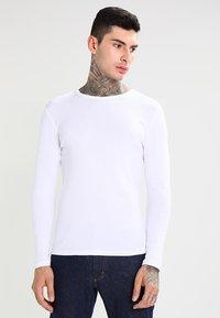G-Star - BASE R T L/S 1-PACK  - Long sleeved top - white - 0