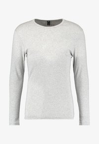 G-Star - BASE R T L/S 1-PACK  - Bluzka z długim rękawem - grey heather - 4