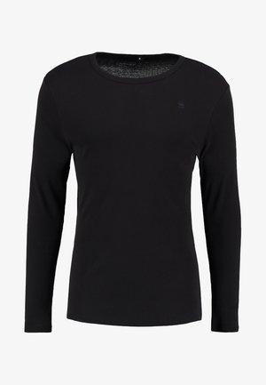 BASE R T L/S 1-PACK  - Camiseta de manga larga - black