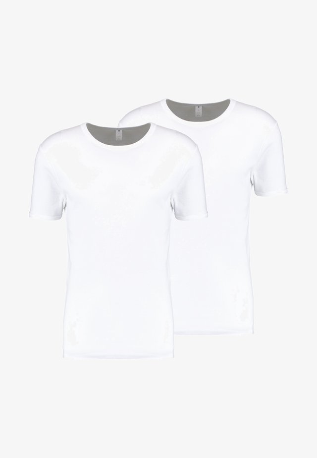 BASE 2 PACK  - T-shirts - white