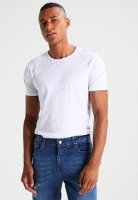 G-Star - BASE 2 PACK  - T-shirt basique - white - 1