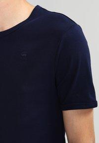 G-Star - BASE 2 PACK  - Basic T-shirt - sartho blue - 4