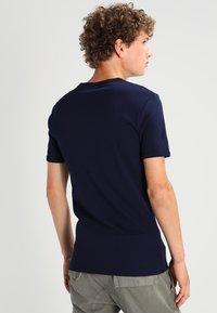 G-Star - BASE 2 PACK  - Basic T-shirt - sartho blue - 3