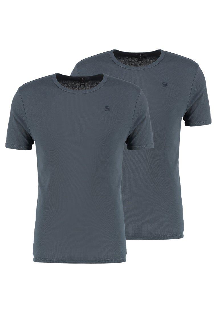 G-Star - BASE 2 PACK  - T-shirt basique - dark slate
