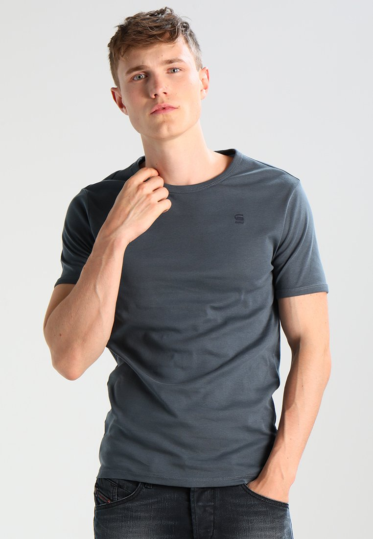 G-star Base 2 Pack - T-shirt Basic Dark Slate
