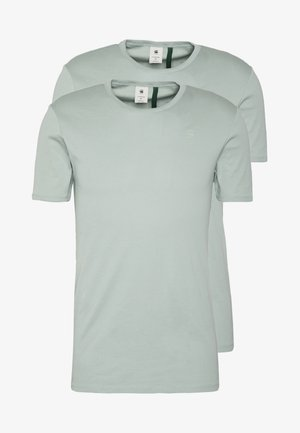 BASE 2 PACK  - Basic T-shirt - pistache sea