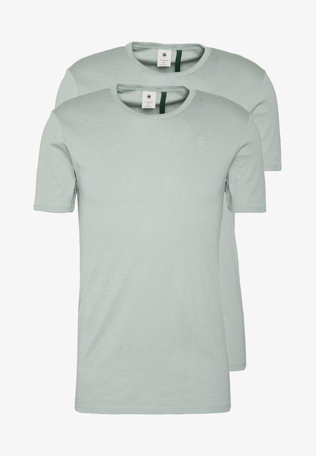 BASE 2 PACK  - T-Shirt basic - pistache sea