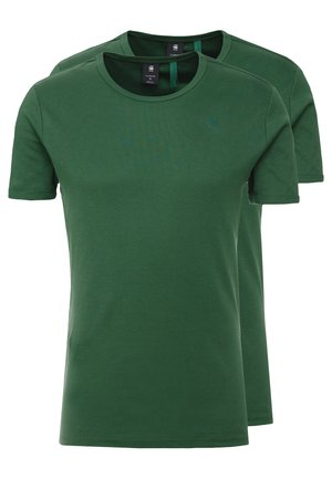 BASE 2 PACK  - T-shirt basic - deep nuri green